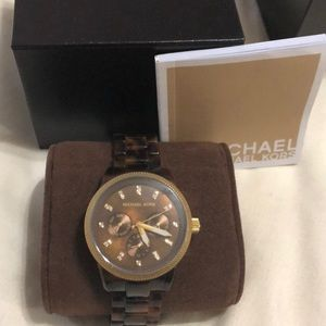 Michael Kors Accessories - Michael Kors tortoise watch
